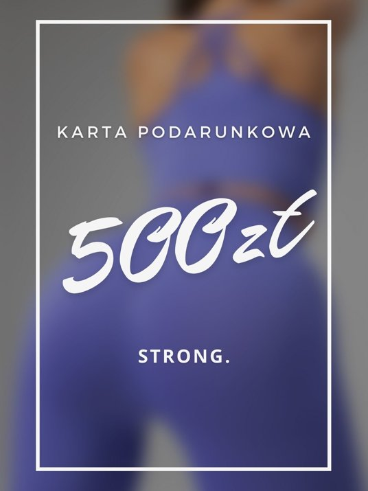Karta podarunkowa 500ZŁ